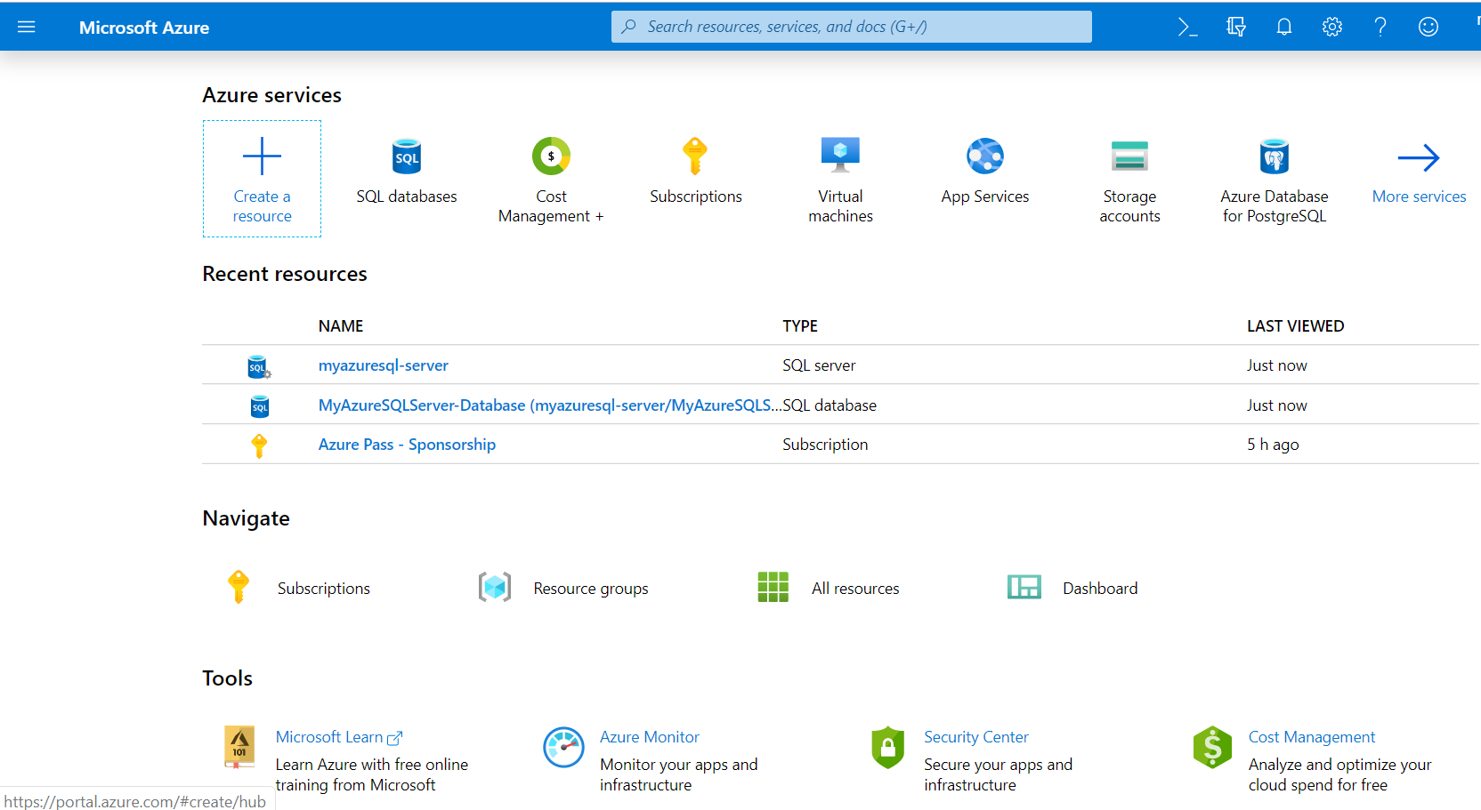 Latest Overview of Azure Portal