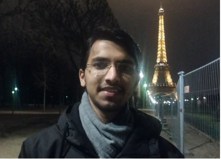 Mayur Jadhav Enjoying in Paris