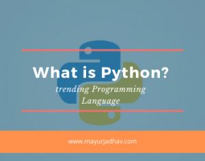 What is Python (trending Programming Language)