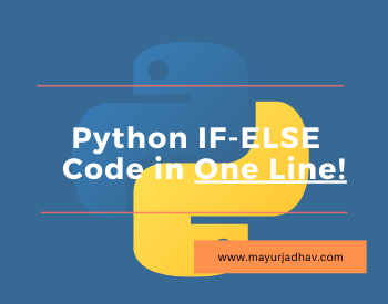 Python If-ELSE Code in One Line - Featured