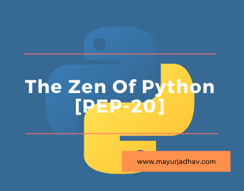 The Zen Of Python [PEP-20]